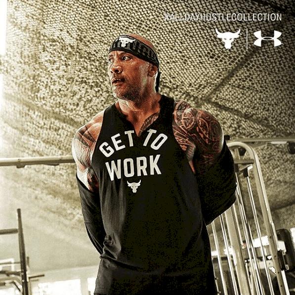 Dwayne Johnson's workout