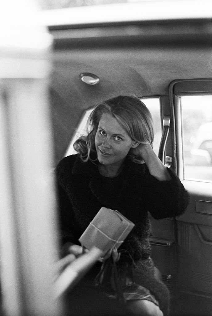 Image Credits: Getty Images / Art Zelin | Elizabeth Montgomery in a car; circa 1970; New York.