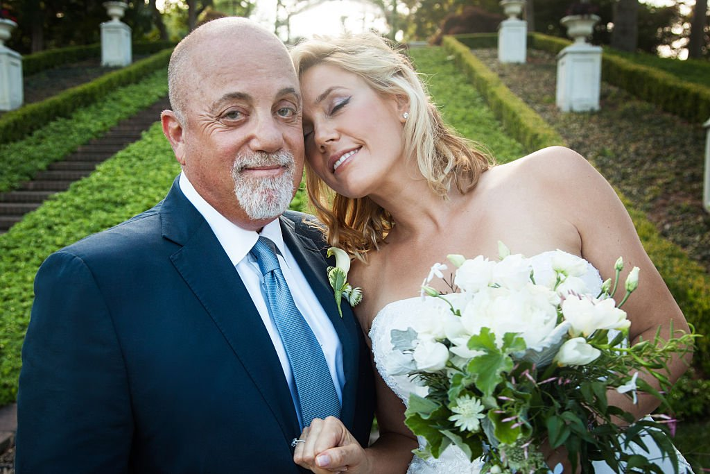 Image Credits: Getty Images / Myrna Suarez / WireImage | Billy Joel and Alexis Roderick tied the knot at a surprise wedding on Saturday, July 4, 2015 at their estate in Long Island.