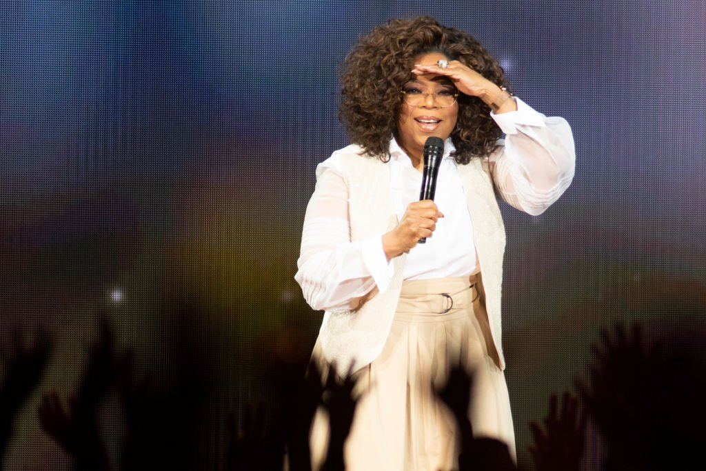 Image Credit: Getty Images / Oprah Winfrey speaks during Oprah's 2020 Vision: Your Life in Focus Tour presented by WW (Weight Watchers Reimagined) at Pepsi Center on March 07, 2020.