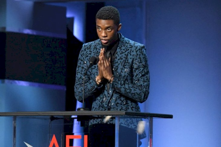 Image Credits: Getty Images / Kevin Mazur | Chadwick Boseman speaks onstage at the 47th AFI Life Achievement Award honoring Denzel Washington at Dolby Theatre on June 06, 2019 in Hollywood, California.