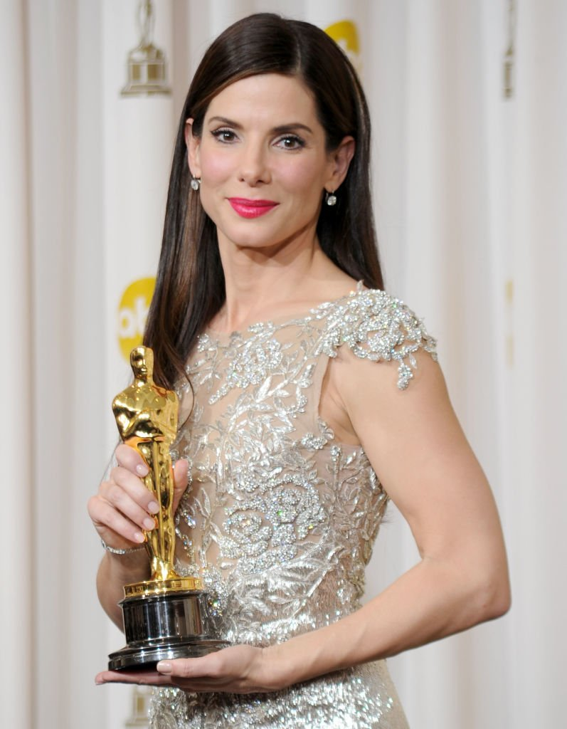 "Image Credits: Getty Images / Jason Merritt | Actress Sandra Bullock, winner Best Actress award for ""The Blind Side,"" poses in the press room at the 82nd Annual Academy Awards held at Kodak Theatre on March 7, 2010 in Hollywood, California."