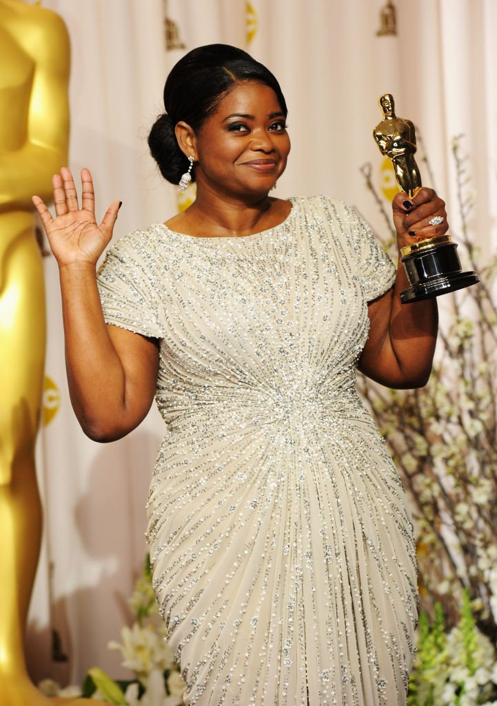 Image Credits: Getty Images / Jason Merritt | Actress Octavia Spencer, winner of the Best Supporting Actress Award for 'The Help'