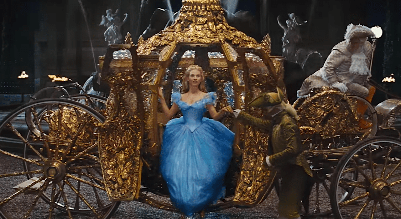 Image Credit: Youtube / Movieclips Trailers | Cinderella, Walt Disney Pictures.