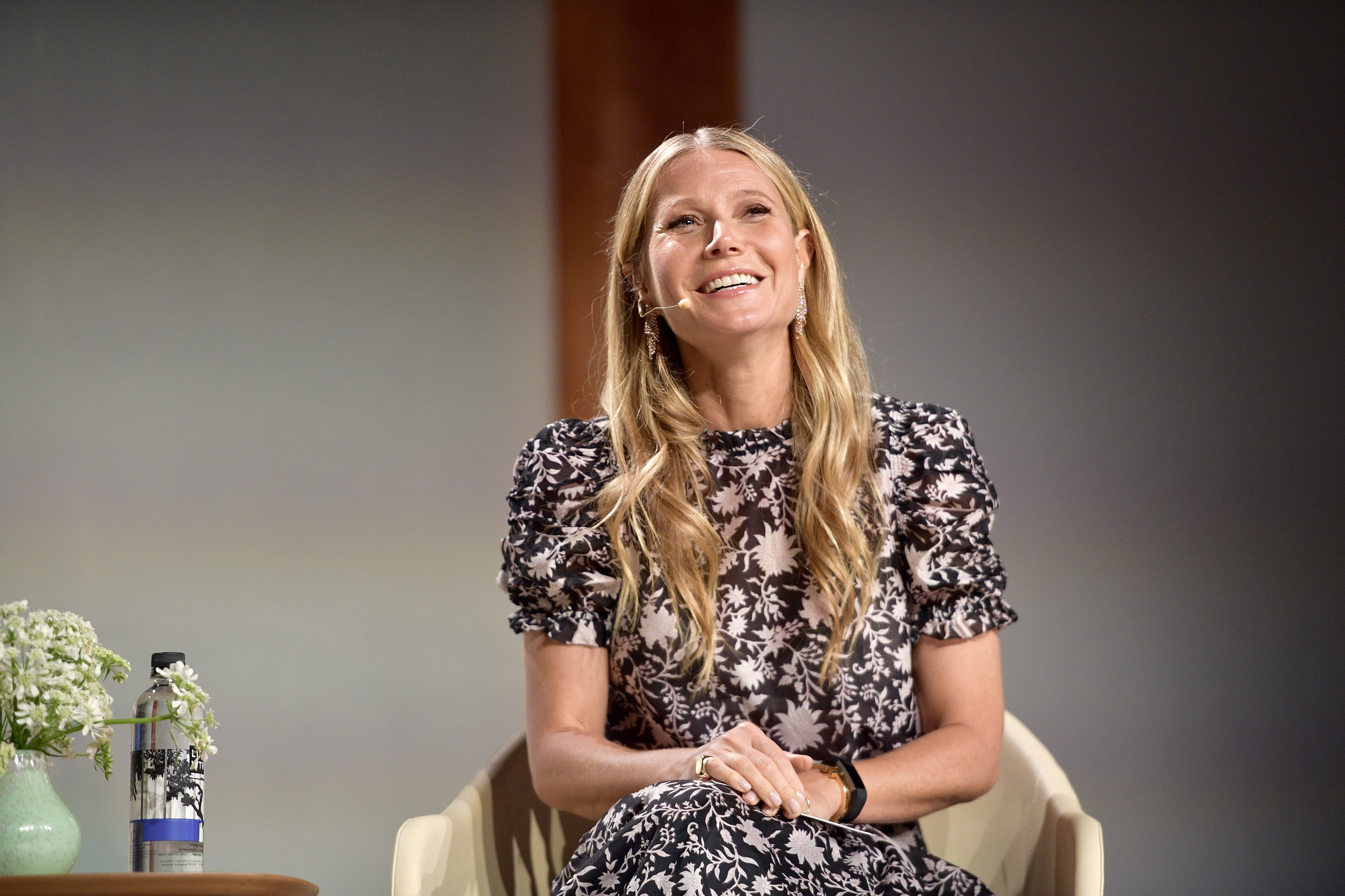 Image Credits: Getty Images / Matt Winkelmeyer | Gwyneth Paltrow speaks onstage at the In goop Health Summit at 3Labs on June 9, 2018 in Culver City, California.