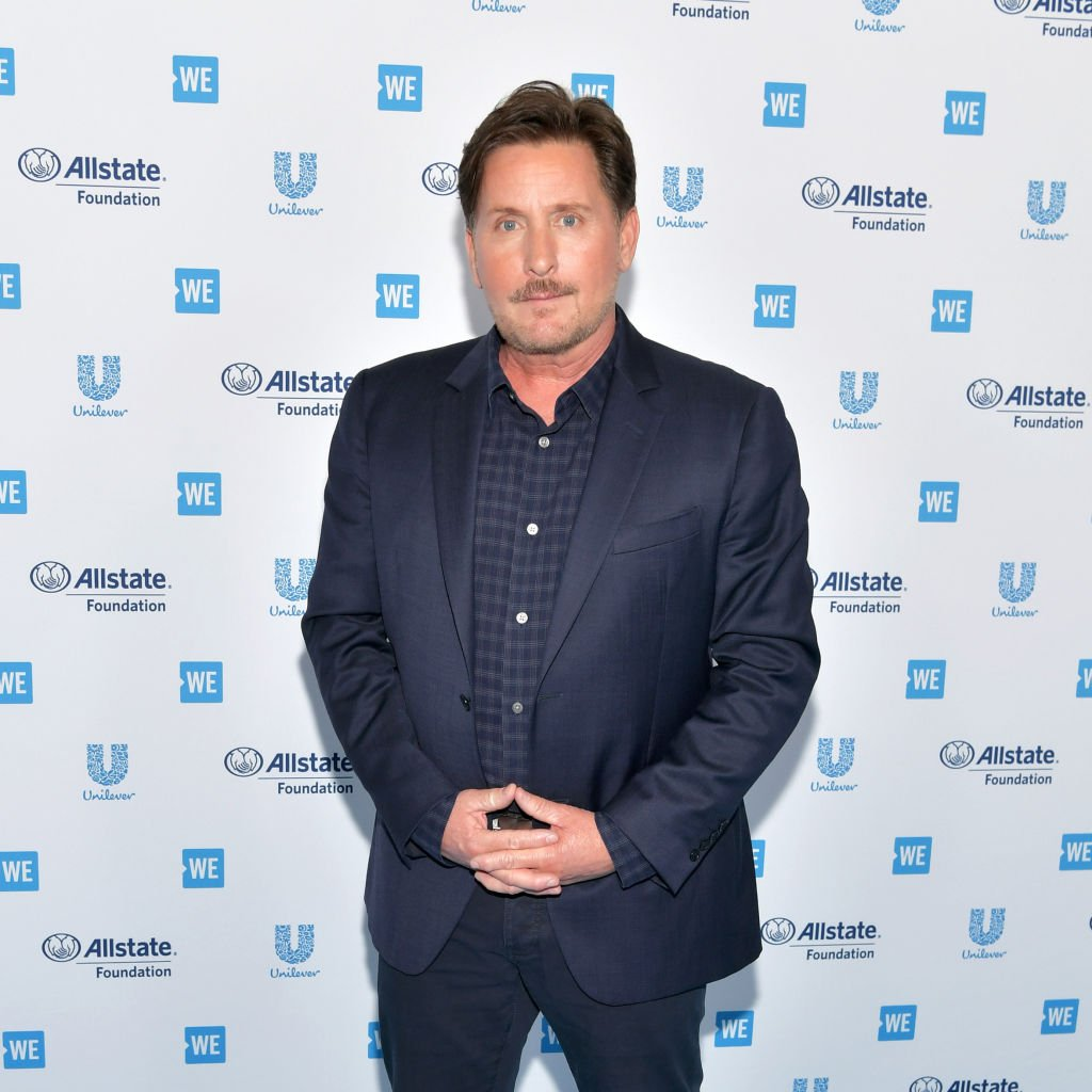 Image Source: Getty Images/ Emilio Estevez attends WE Day California at The Forum on April 25, 2019