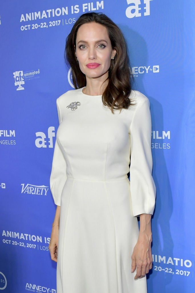 Image Source: Getty Images/Angelina in Animation Is Film event on October 2017