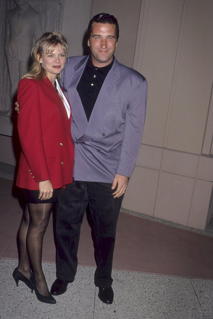 """Daniel Baldwin and wife Elizabeth attend the Screening of NBC's Original Documentary """"Fallen Champ: The Untold Story of Mike Tyson"""" on February 2, 1993 at the Academy Plaza Theatre in North Hollywood, California. (Photo by Ron Galella, Ltd./Ron Galella Collection via Getty Images)"""