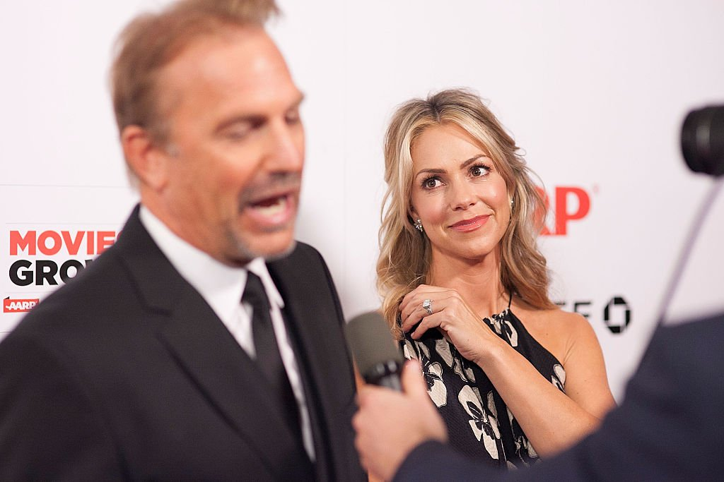 Image Credit: Getty Images / Kevin Costner (L) and his wife Christine Baumgartner attend AARP The Magazine's 14th Annual Movies For Grownups Awards Gala - Arrivals at the Beverly Wilshire Four Seasons Hotel on February 2, 2015.