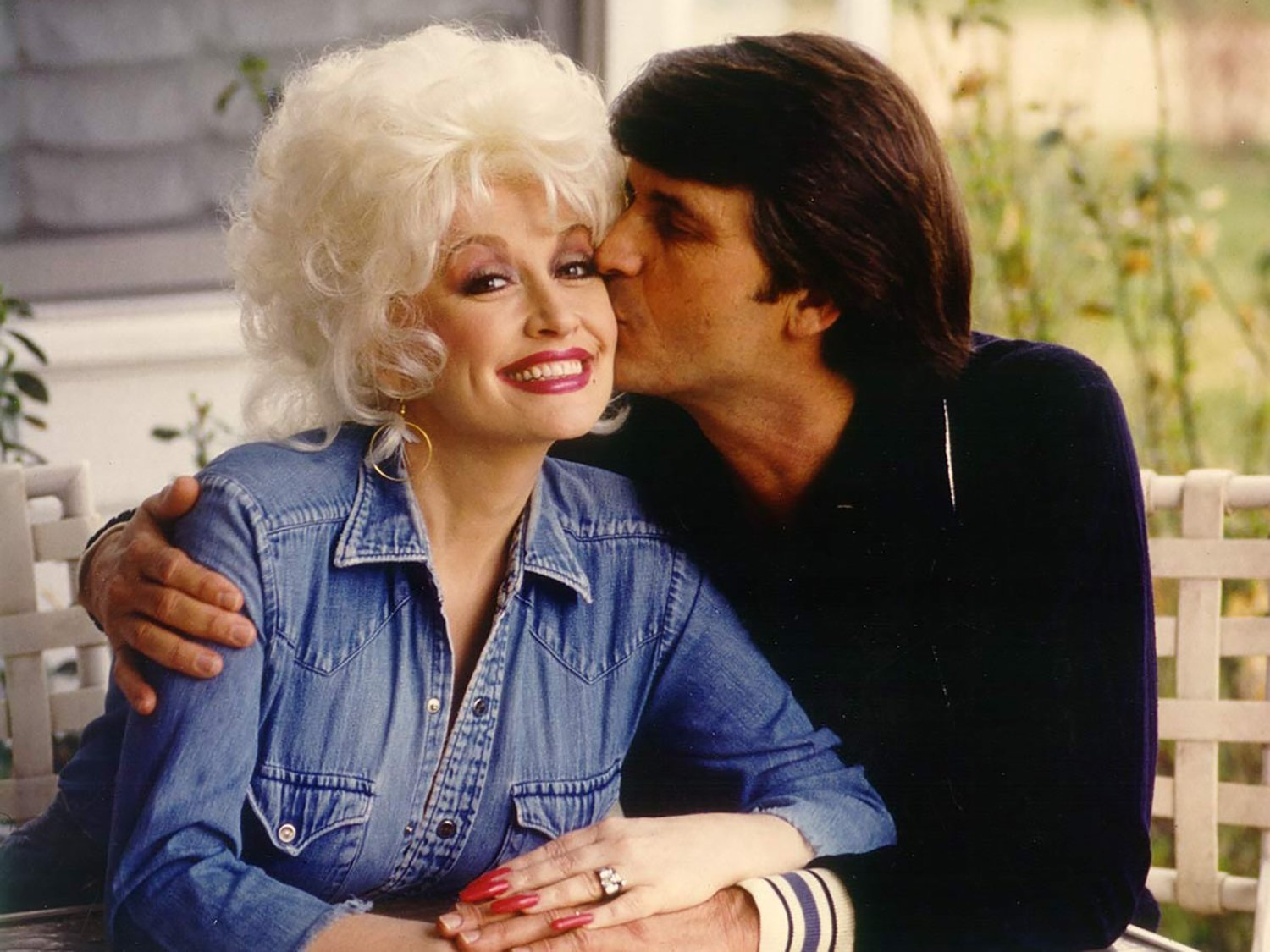 Dolly Parton and Carl Dean/Photo:Getty Images