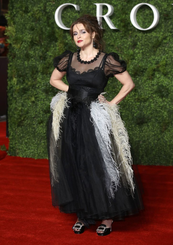 """Image Credits: Getty Images / Mike Marsland / WireImage   Helena Bonham Carter attends """"The Crown"""" Season 3 world premiere at The Curzon Mayfair on November 13, 2019 in London, England."""