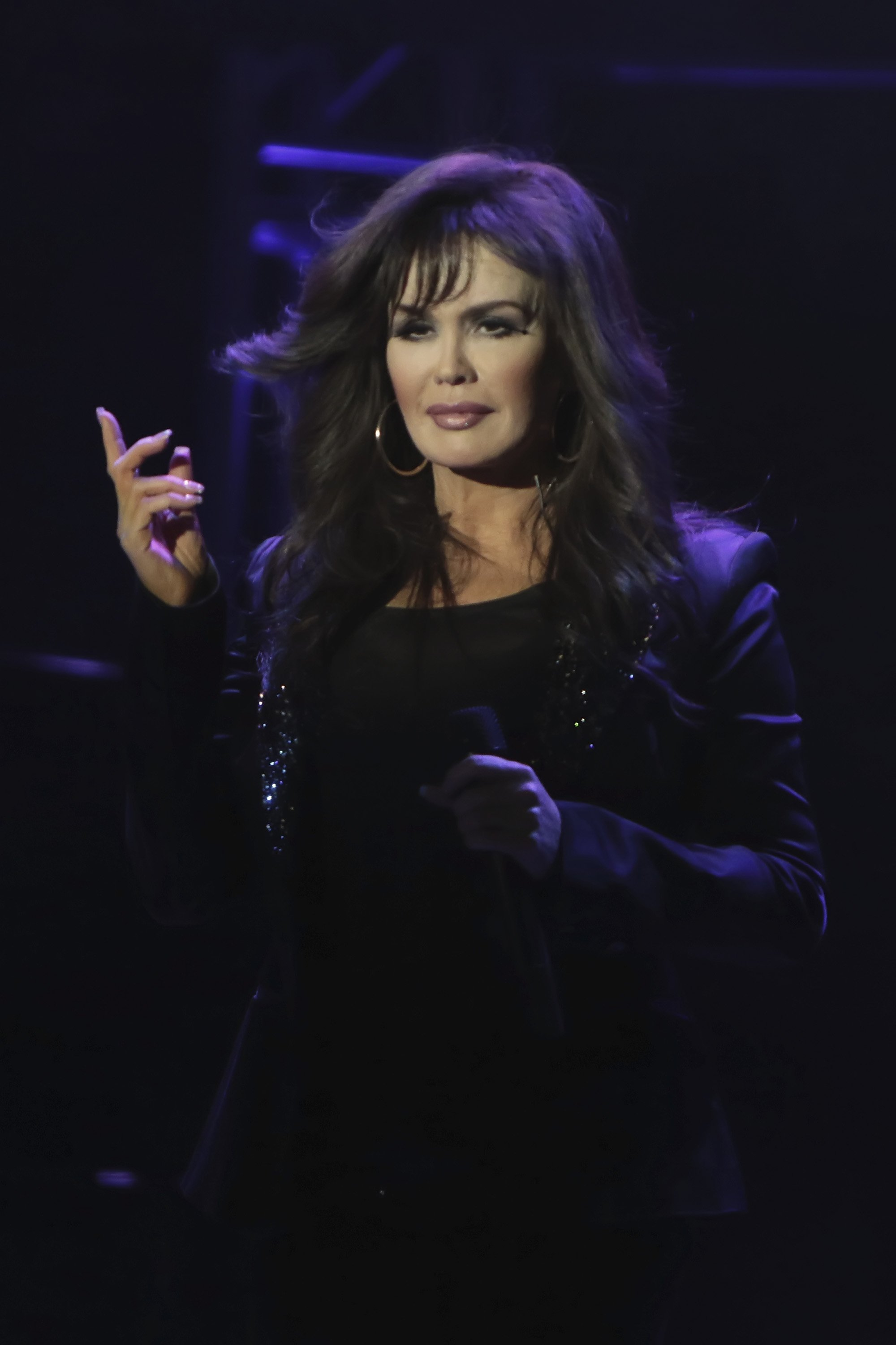 Image Credits: Getty Images / Donald Kravitz   Marie Osmond performs at Borgata Hotel Casino & Spa on March 13, 2015 in Atlantic City, New Jersey.