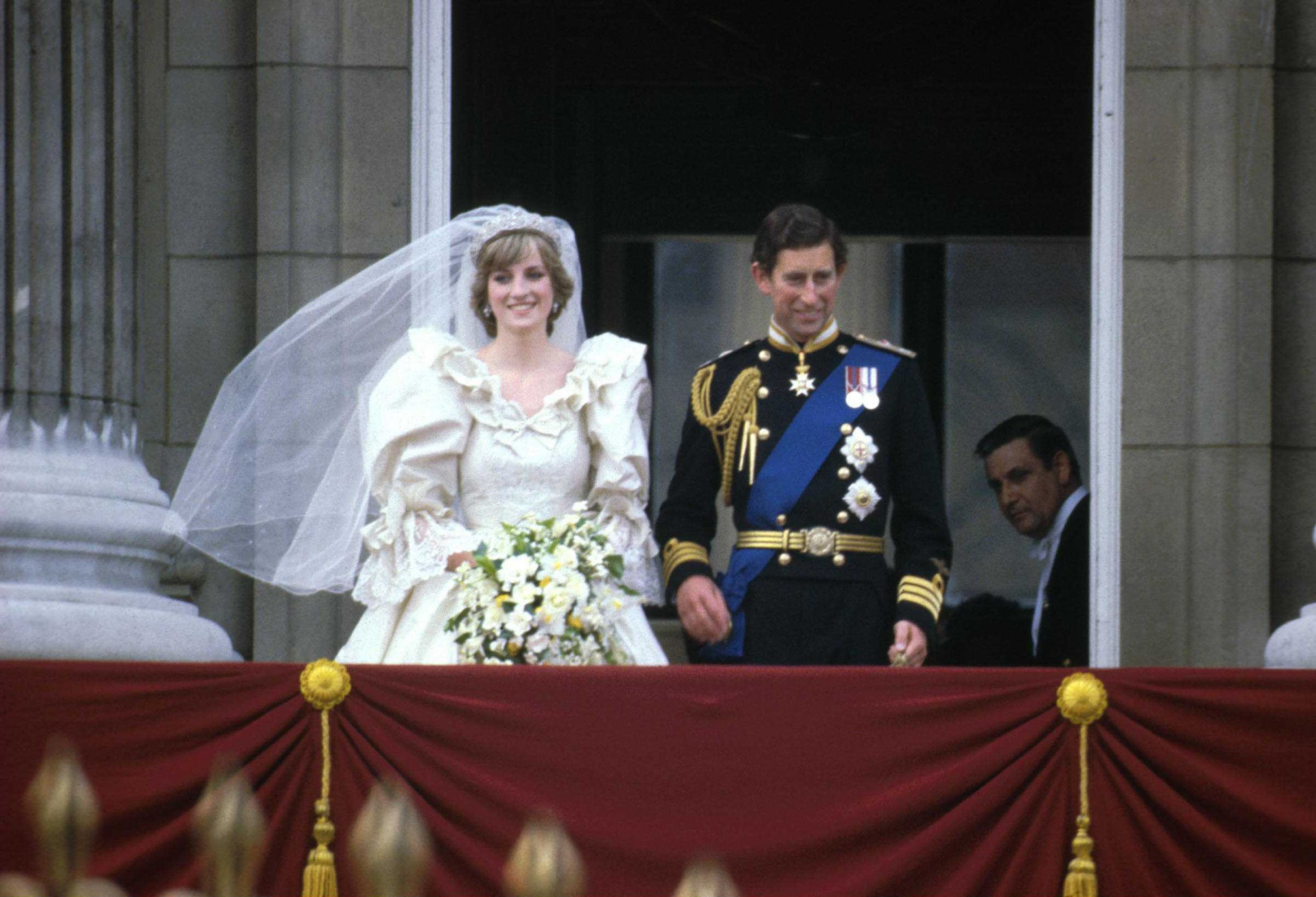 Diana Spencer and Prince Charles's Wedding / Getty Images