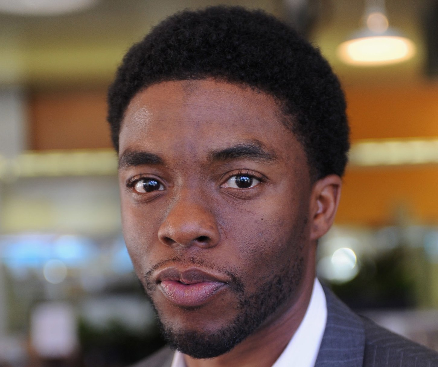 "Image Credit: Getty Images /  Chadwick Boseman of ""The Kill Hole"" attends Day 3 of the 2012 Santa Barbara International Film Festival on January 28, 2012."