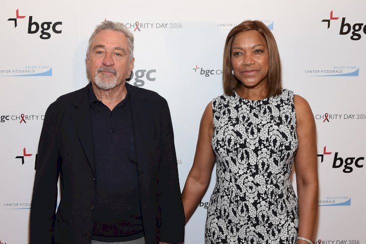 Image Credits: Getty Images / Larry Busacca | Actor Robert De Niro (L) and Grace Hightower attend Annual Charity Day hosted by Cantor Fitzgerald, BGC and GFI at BGC Partners, INC on September 12, 2016 in New York City.