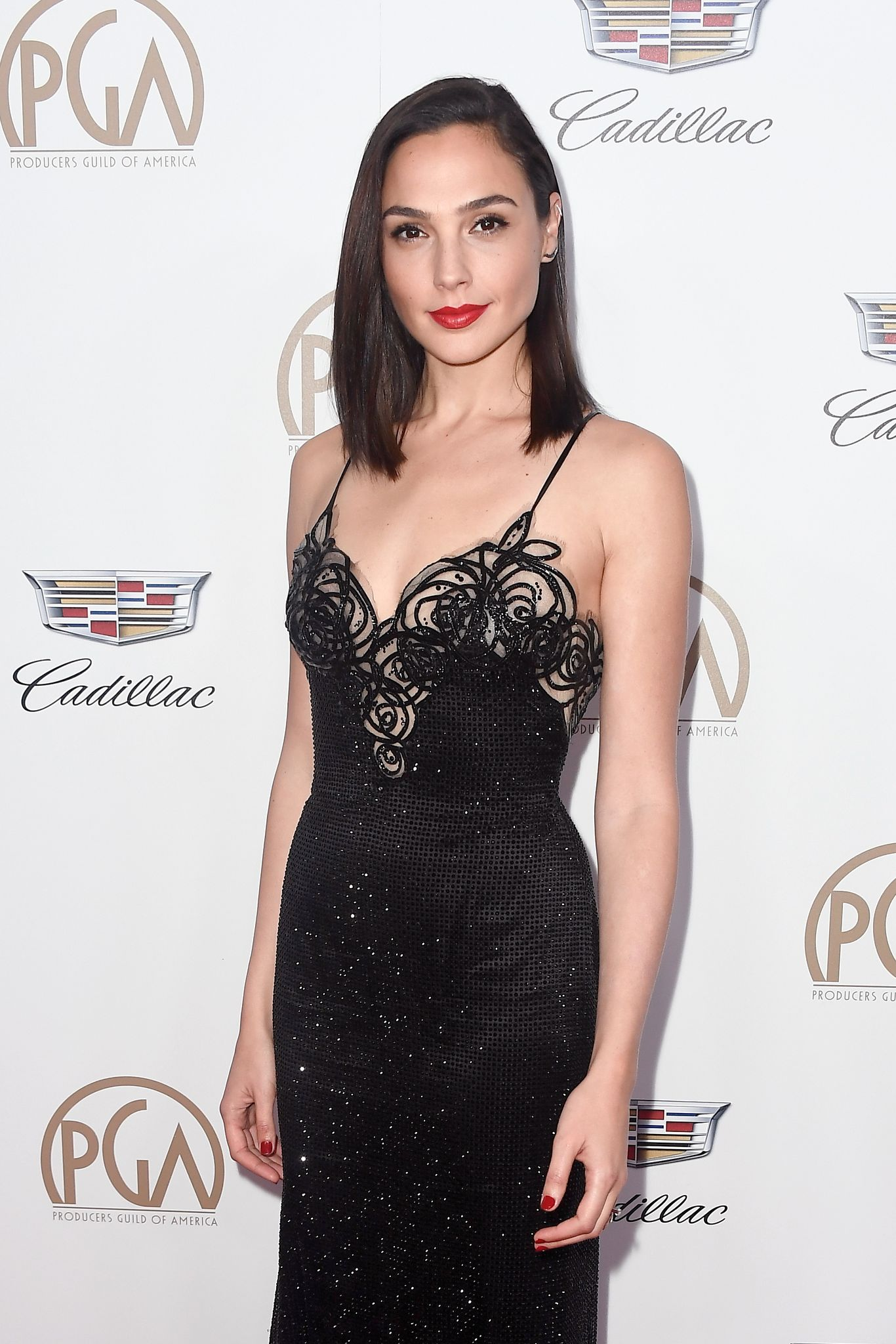 Gal Gadot attends the 29th Annual Producers Guild Awards / Getty Images