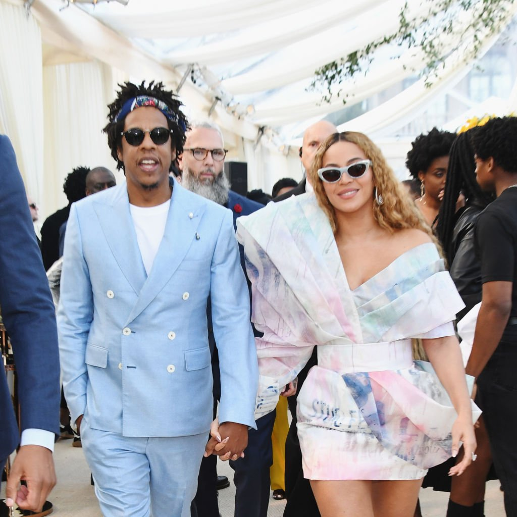 Image Credits: Getty Images / Kevin Mazur | Beyonce and Jay Z