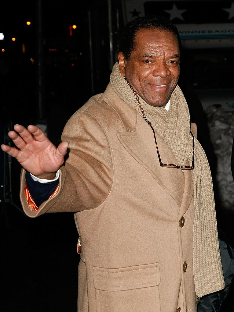 "Image Credits: Getty Images / Jeffrey Ufberg / WireImage | Comedian John Witherspoon visits ""Late Show With David Letterman"" at the Ed Sullivan Theater on December 21, 2009 in New York City."