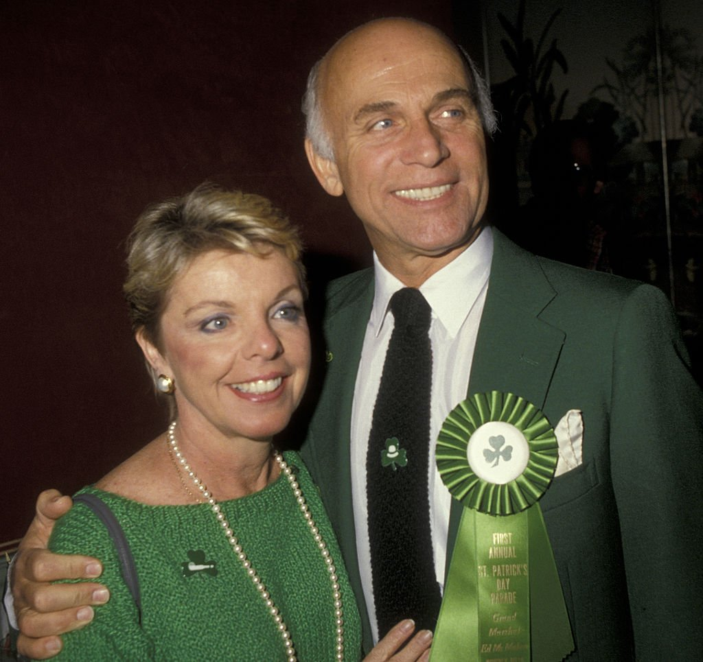 Image Credits: Getty Images | Gavin MacLeod with second wife Patti MacLeod