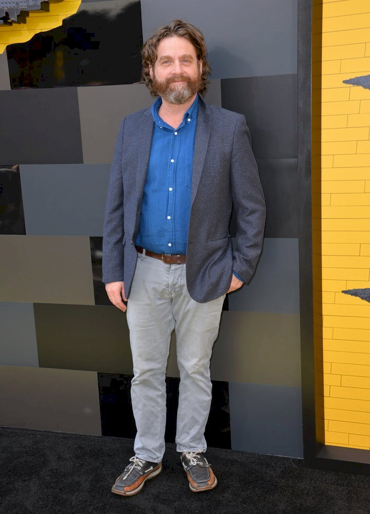 Image Credit: Shutterstock / Zach Galifianakis on the red carpet.