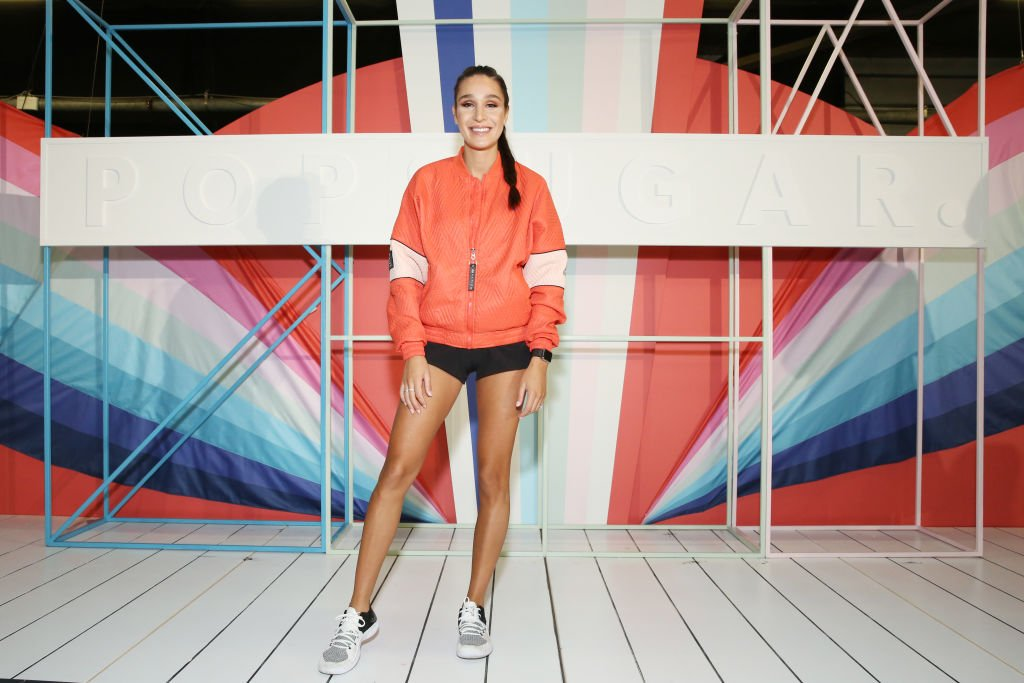 Image Credit: Getty Images / Personal trainer Kayla Itsines attends day 1 of POPSUGAR Play/Ground on June 9, 2018 in New York City.