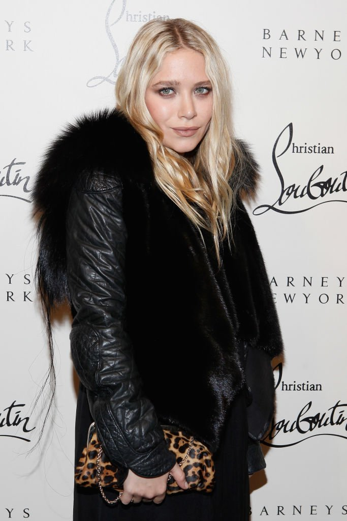 Image Credit: Getty Image/Cindy Ord | Mary-Kate Olsen attend the Christian attends the Louboutin Cocktail party at Barneys New York