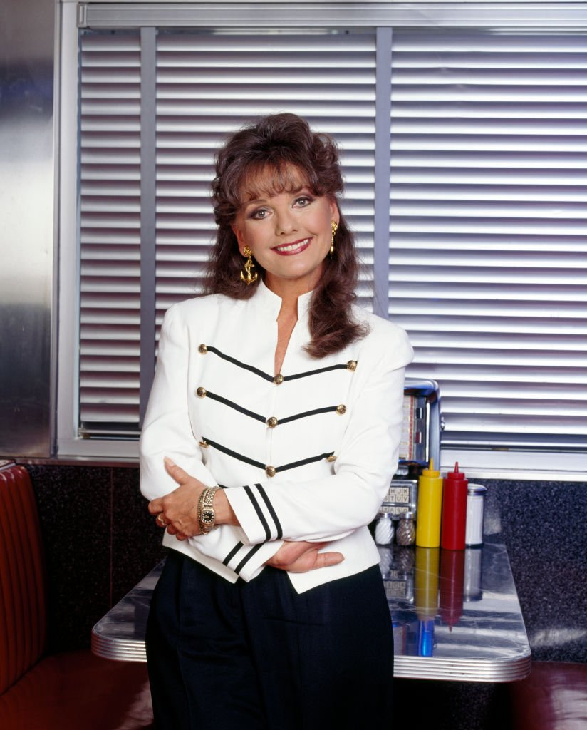 "Image Source: Getty Images/CBS Photo Archive/Dawn Wells, best known for portraying Mary Ann Summers on the television sitcom, Gilligan's Island stars on ""TV's All-Time Favorites,"""