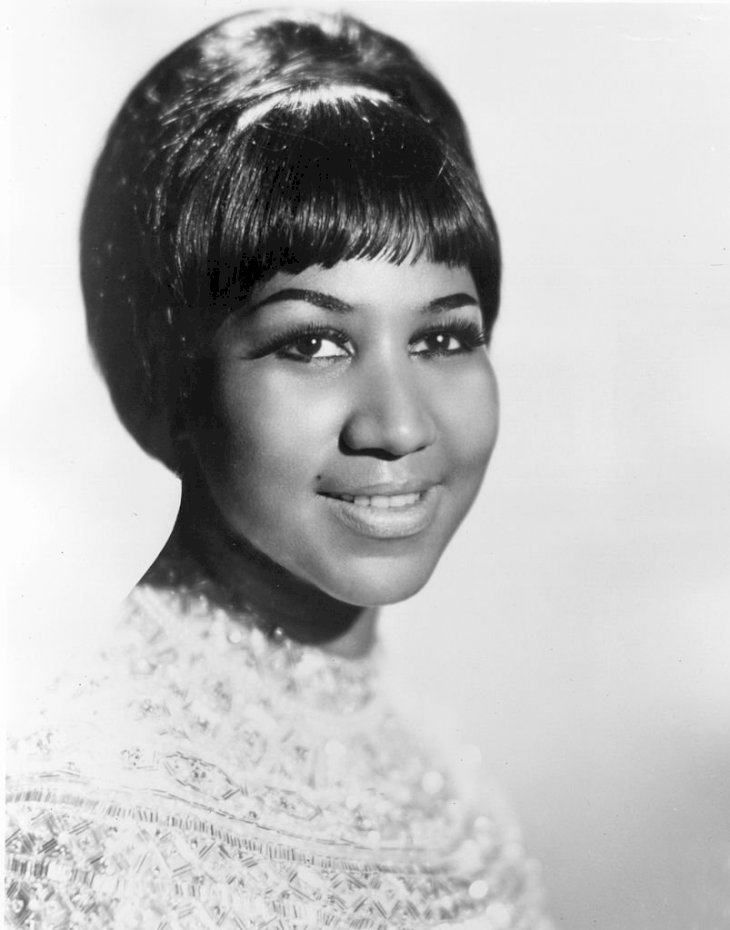 Image Credit: Getty Images / Singer, Aretha Franklin poses for a portrait picture.