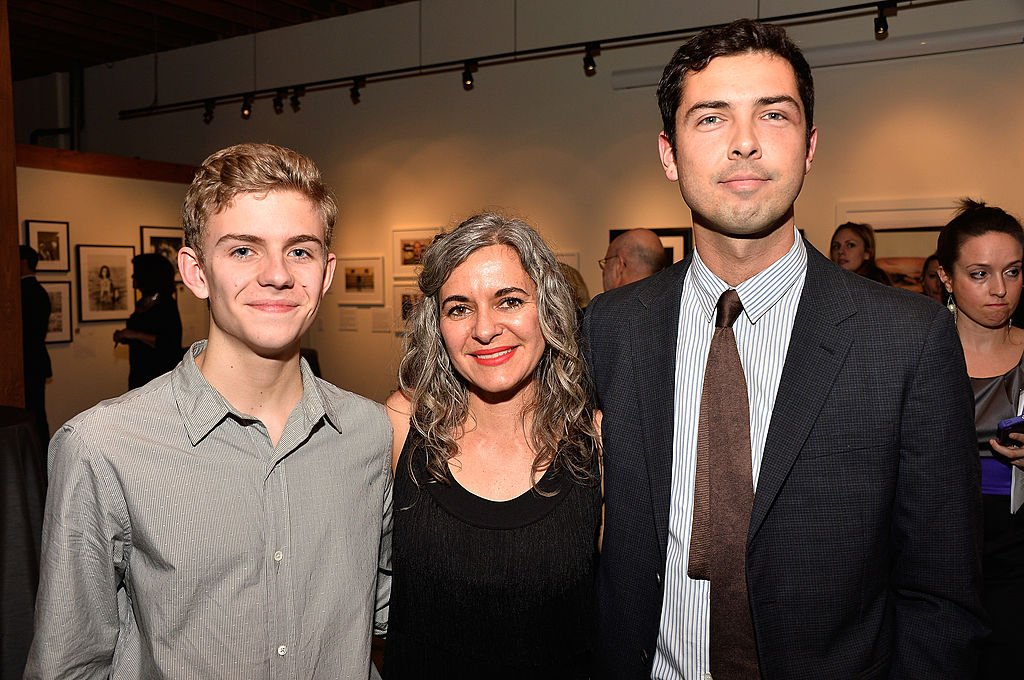 Image Credit: Getty Images / McMurray,Laela Wilding,Caleb Wilding attend The Elizabeth Taylor AIDS Foundation on February 27, 2014 in Los Angeles, California.