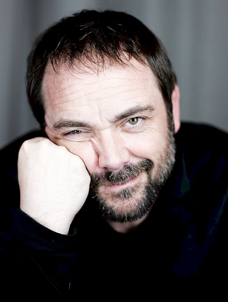 Image Credits: Getty Images / MJ Kim | Actor Mark Sheppard poses for a portrait at the Getty Images Portrait Studio powered by Samsung Galaxy at Comic-Con International 2014 at Hard Rock Hotel San Diego on July 26, 2014 in San Diego, California.