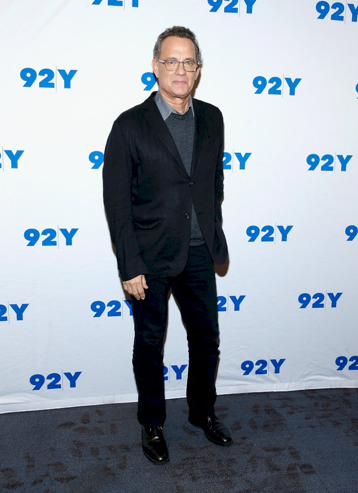 Image Credits: Getty Images / John Lamparski | Tom Hanks poses before a conversation with Gayle King at 92nd Street Y on November 1, 2018 in New York City.