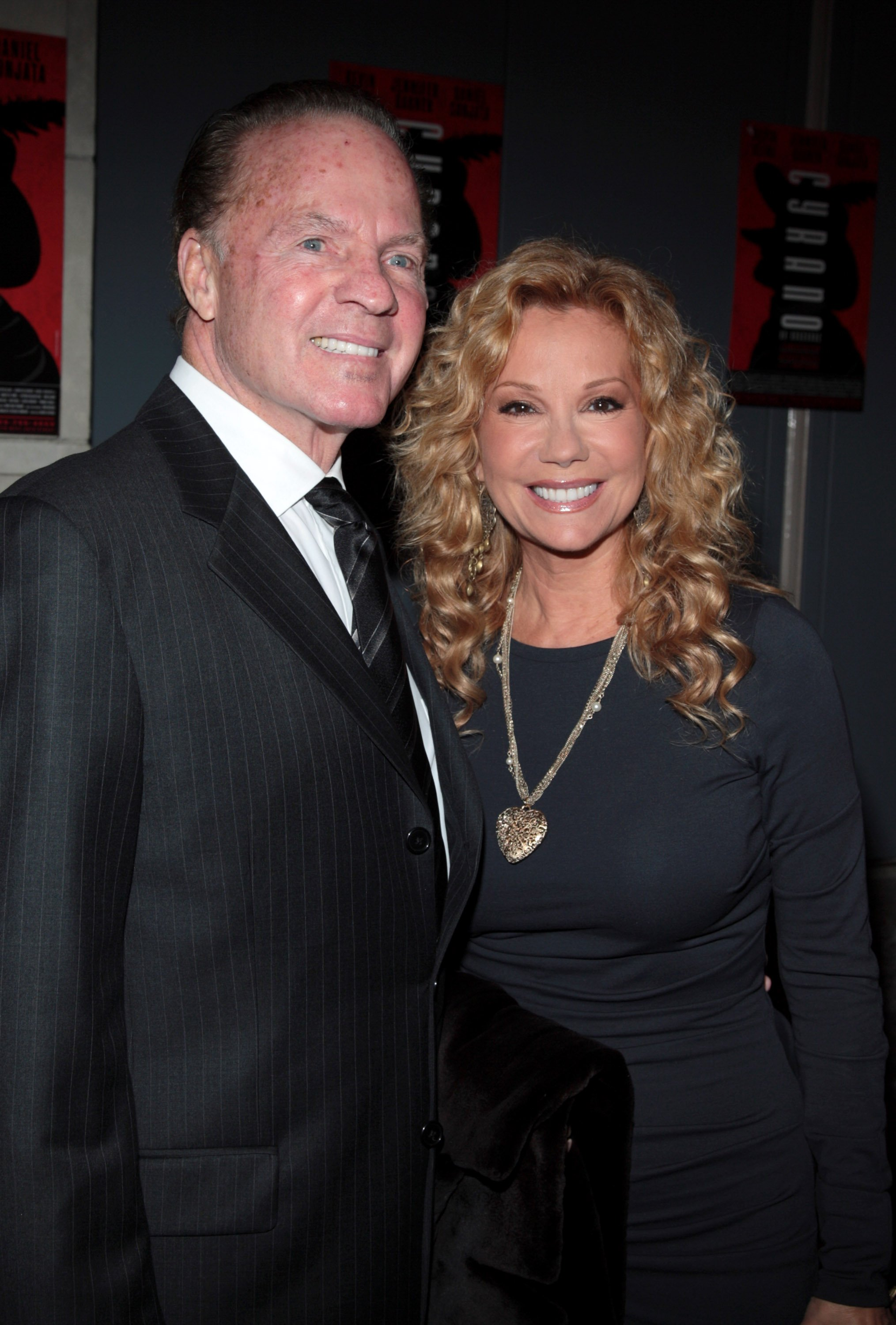 "Image Credits: Getty Images / Stephen Lovekin | Kathie Lee Gifford and her husband, former Monday Night Football announcer Frank Gifford, attend the opening night of ""Cyrano De Bergerac"" at the Richard Rodgers Theatre November 1, 2007 in New York City."