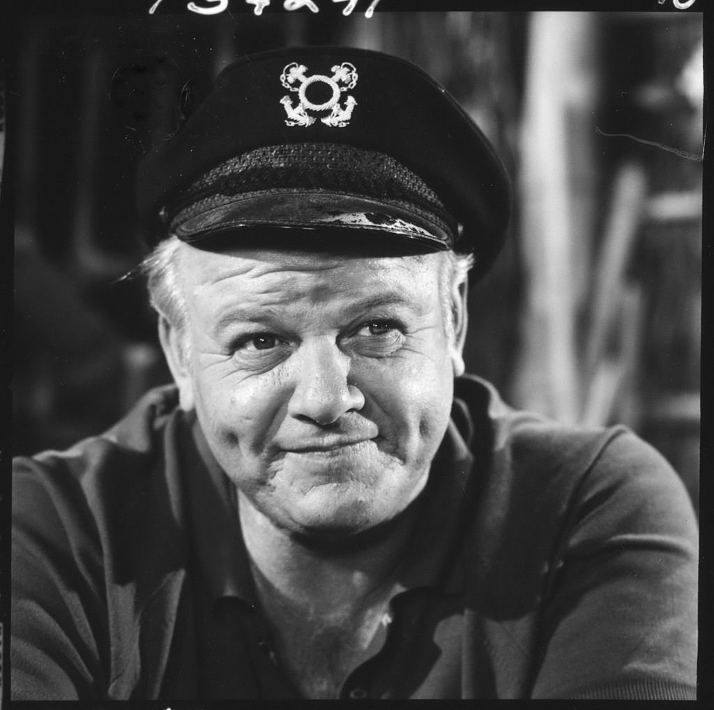 Image Credit: Getty Images / American actor Alan Hale Jr. (1918 - 1990), as the Skipper, in a scene from an episode of the television comedy 'Gilligan's Island' entitled 'Nyet Nyet, Not Yet,' Los Angeles, California, September 30, 1965.