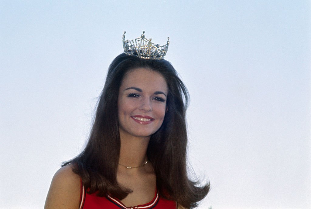 Image Credit: Getty Images / Phyllis George, crowned Miss Texas, in the Miss American contest, 1970.