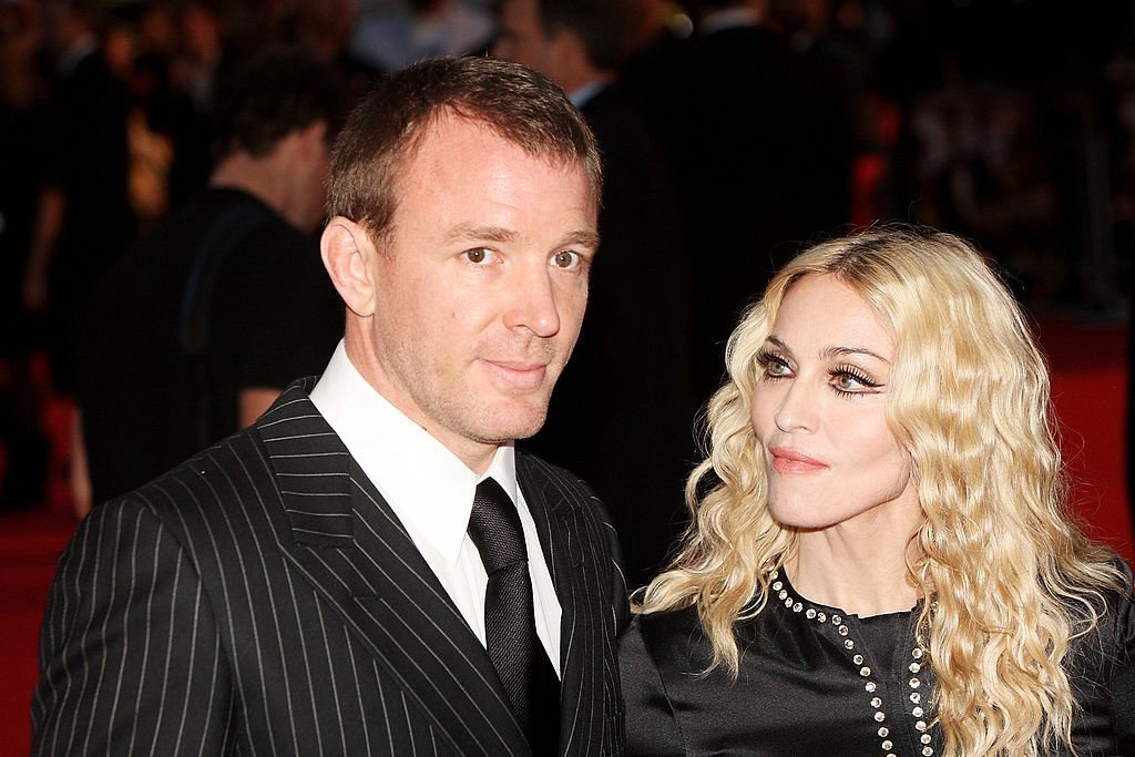 Image Credit: Getty Images / Guy Ritchie and Madonna arrive at the world premiere of 'RocknRolla' at the Odeon cinema, Leicester Square on September 1, 2008 in London.