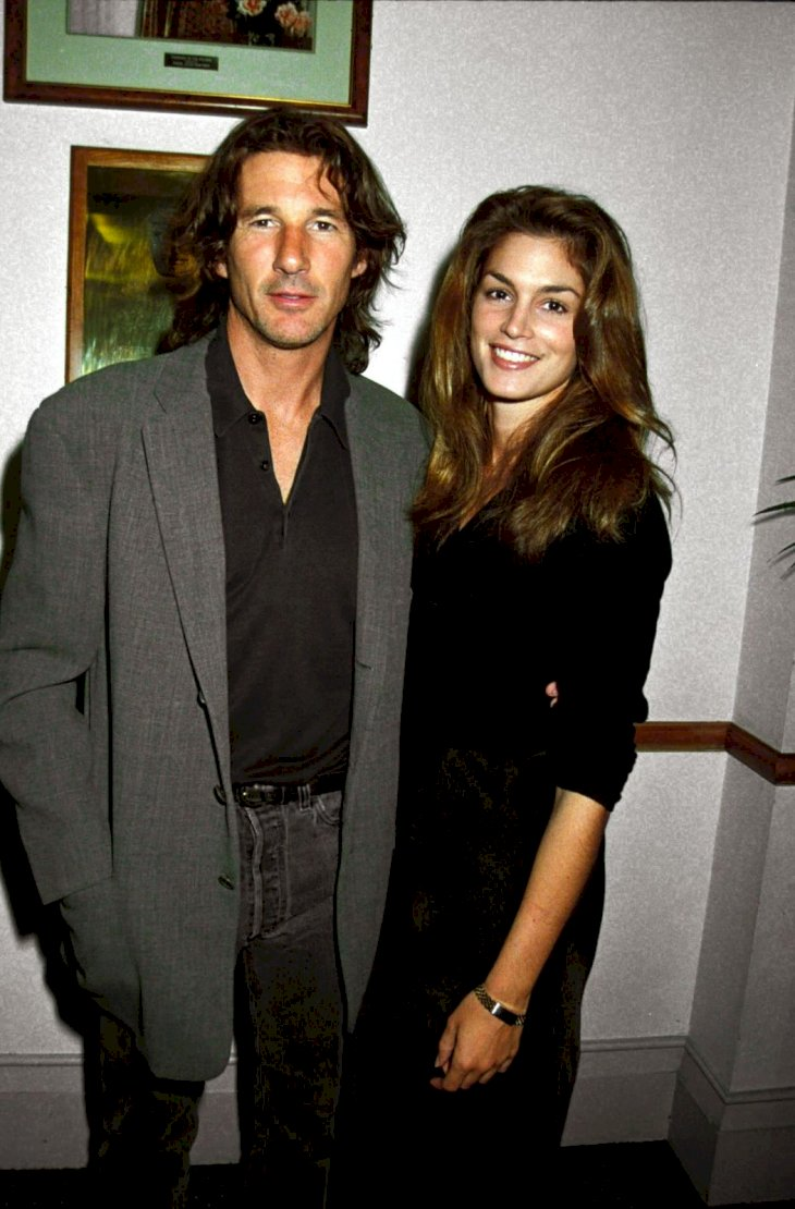 Richard Gere and Cindy Crawford/Photo:Getty Images