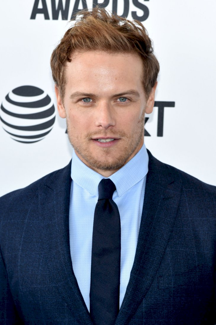 Sam Heughan / Getty Images