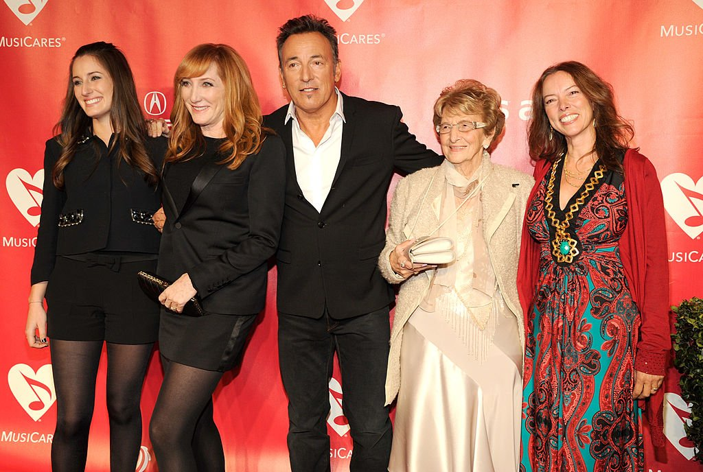 Image Source: Getty Images | Pamela Springsteen (far-right)