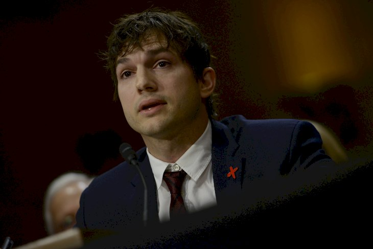 Image Credit: Getty Images / Ashton Kutcher at an event.