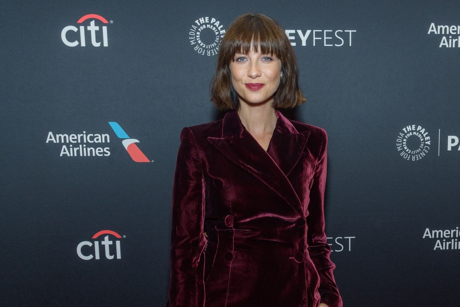 Caitriona Balfe attends the Outlander 2018 Paleyfest NY at The Paley Center for Media/Photo:Getty Images