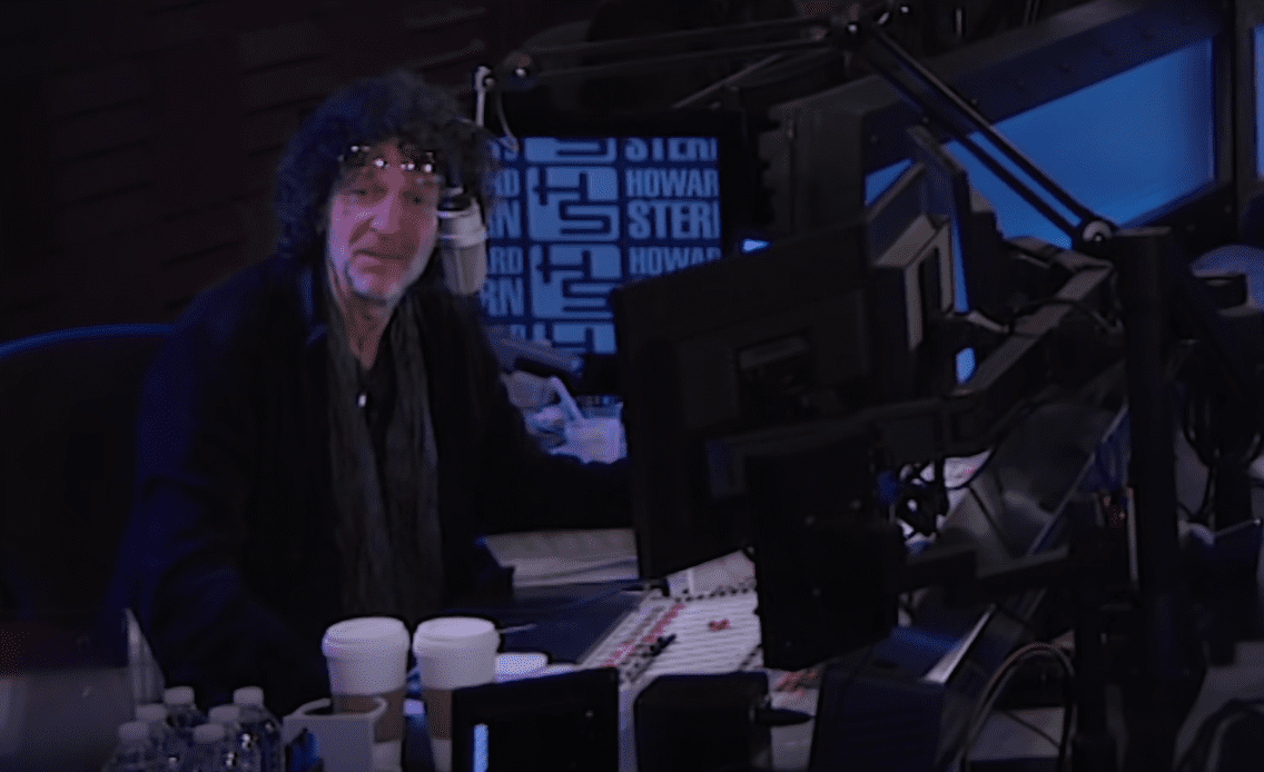 Image Source: Youtube/Howard Stern Show