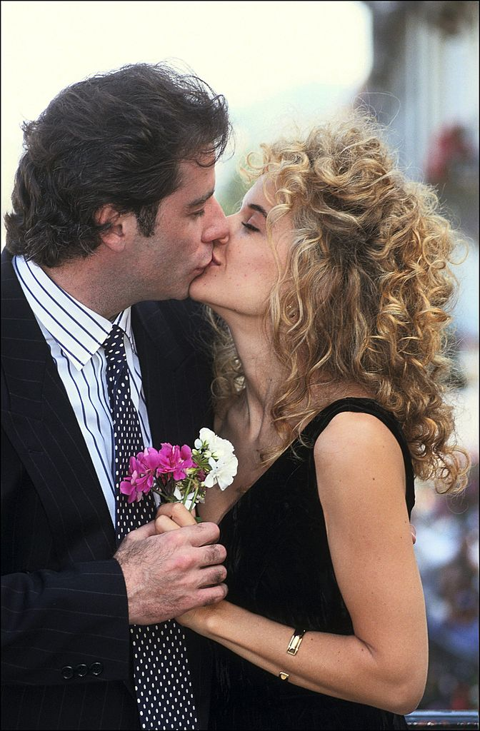 Image Source: Getty Images/Pool BENAINOUS/REGLAIN/J.Travolta and Kelly Preston at Deaville film festival in Deauville, France on September 08, 1991