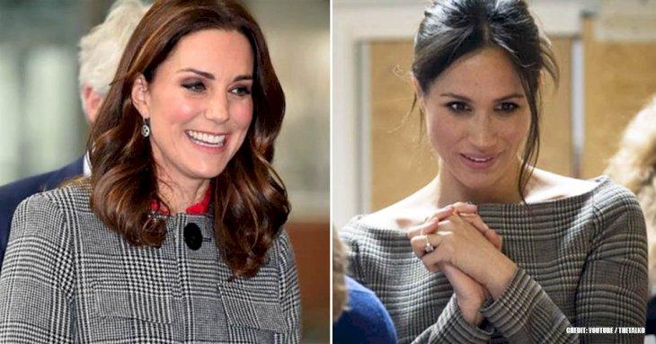 10 Times Meghan Markle Came To The Edge Dressing Like Kate Middleton