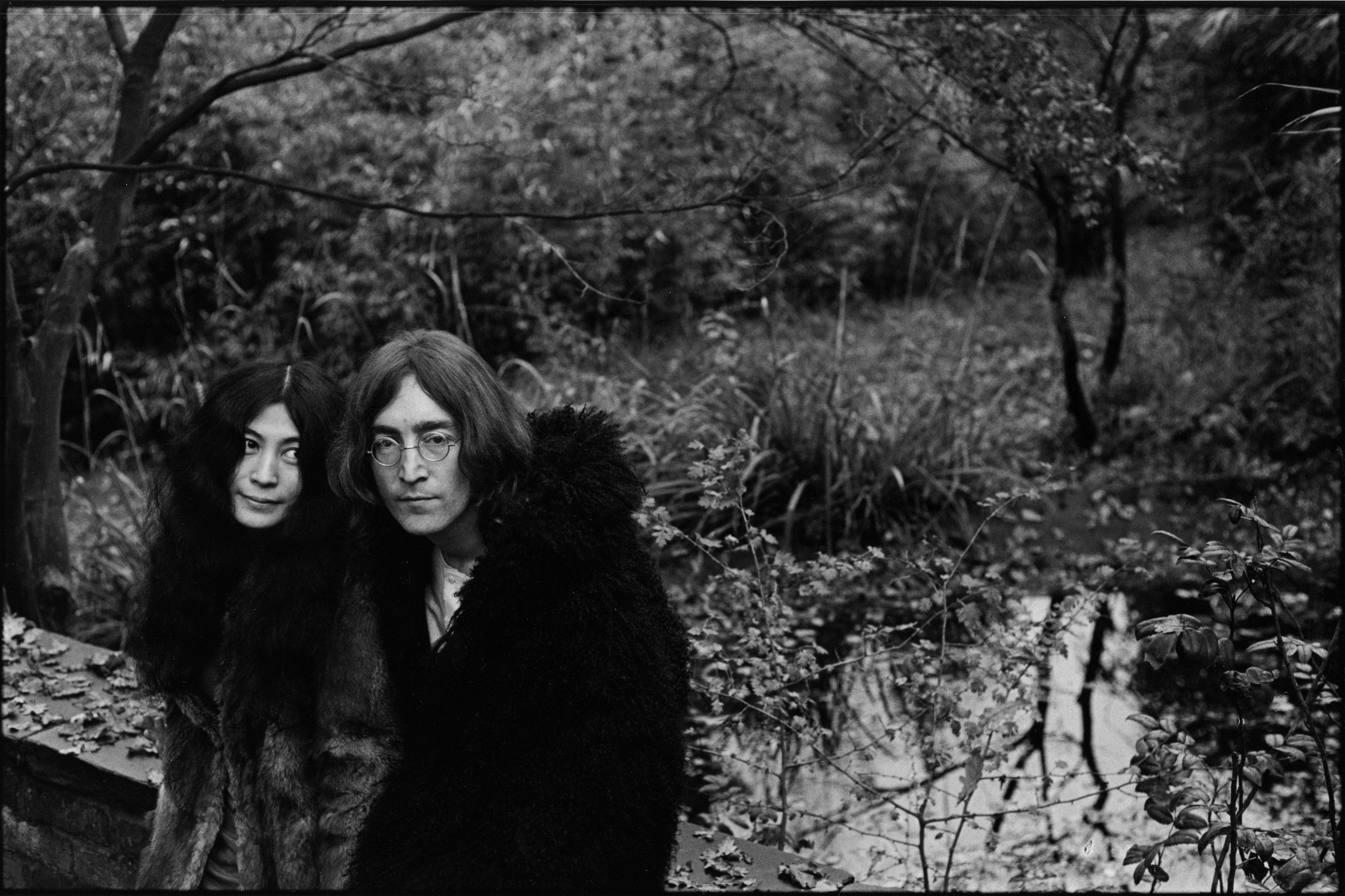 Image Credits: Getty Images / Susan Wood | Portrait of Japanese-born artist and musician Yoko Ono and British musican and artist John Lennon (1940 - 1980), December 1968.