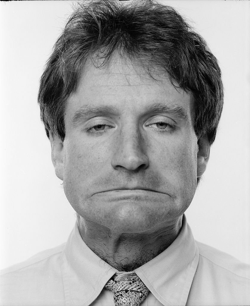 Image Credits: Getty Images / Jack Mitchell | Actor and comedian Robin Williams photographed in April 1984.