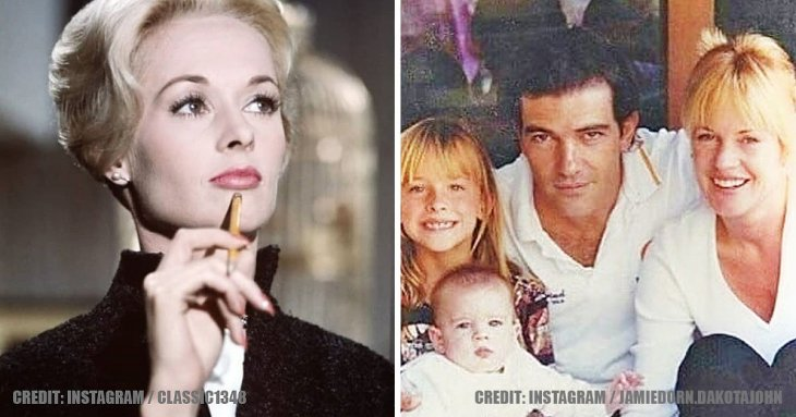 Antonio Banderas' daughter is all grown up and looks similar to grandmother, Tippi Hedren