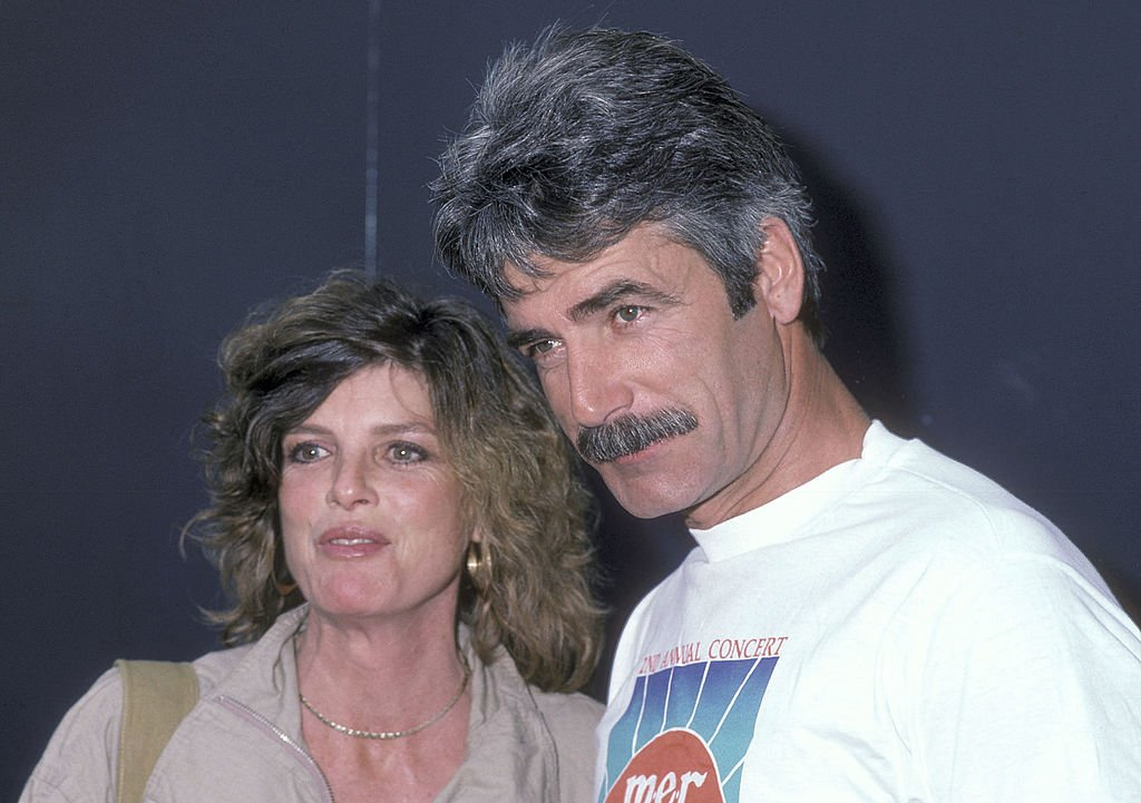 Image Source: Getty Images/Ron Galella | The couple at a charity event in 1984