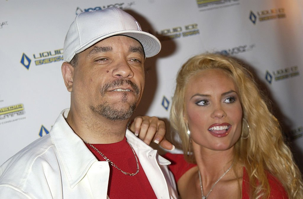 Image Credit: Getty Images / Ice-T and fiancee, Coco during Ice-T Celebrates Launch of Icewear Clothing in New York City.