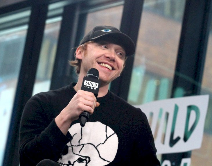 Image Credit: Getty Images / Rupert Grint on a radio show.