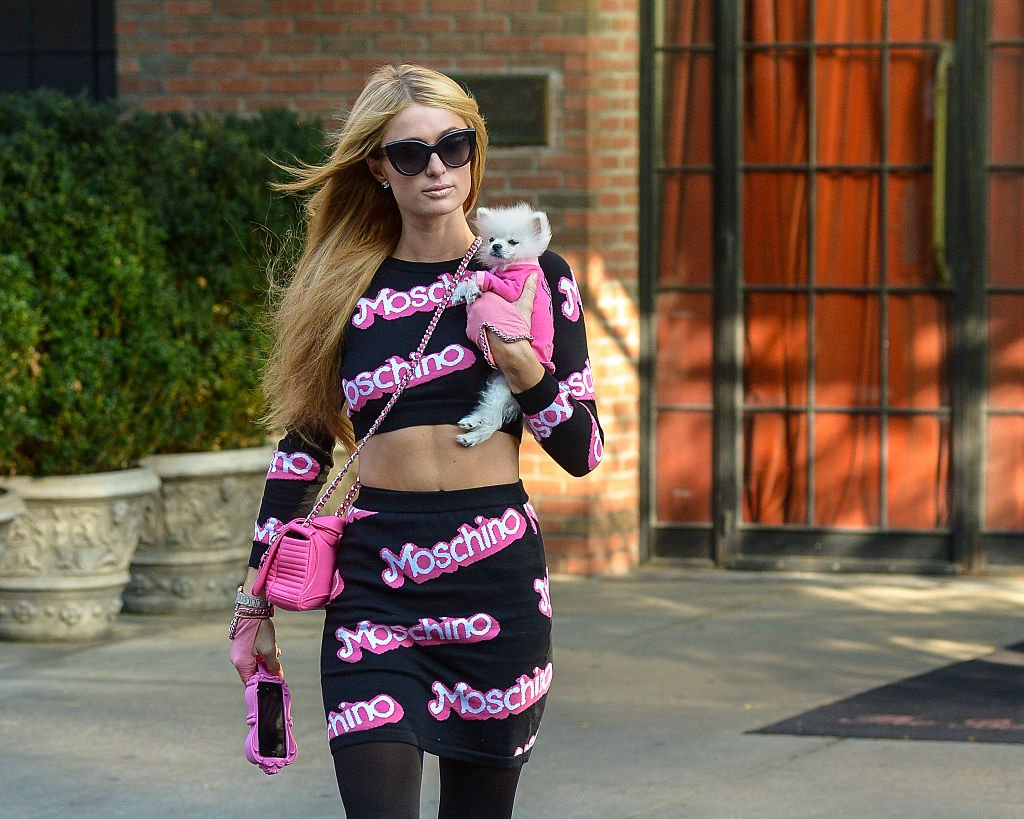 Image Credit: Getty Images / Paris Hilton is seen in New York City on October 17, 2014 in New York City.